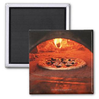 Pizza Square Magnet