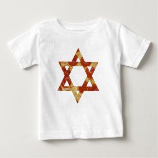 pizza star of david baby T-Shirt