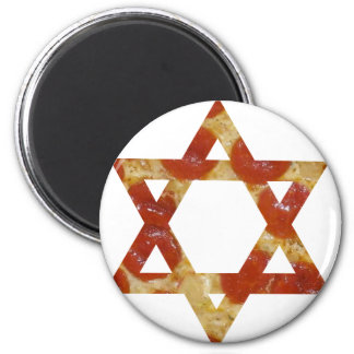 pizza star of david magnet