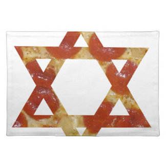 pizza star of david placemat