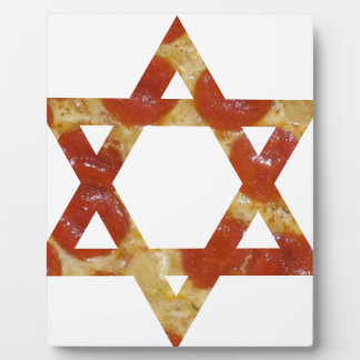 pizza star of david plaque