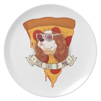 Pizza State of Mind Plate