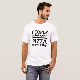 Pizza Stays True Funny Tshirt