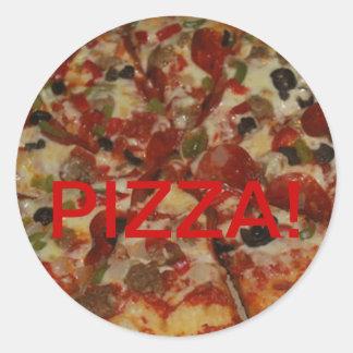 Pizza Sticker . . . Yum