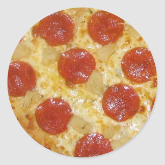 Pizza stickers - customize