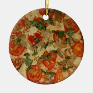 Pizza Time! Ceramic Ornament
