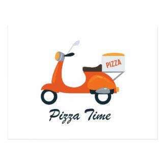 Pizza Time Postcard