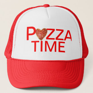 Pizza Time Trucker Hats