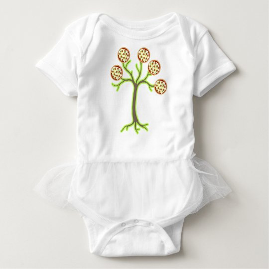 pizza tree baby bodysuit