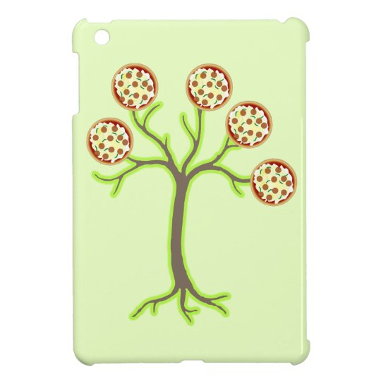 pizza tree iPad mini case