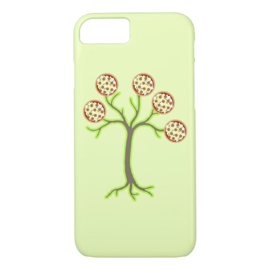 pizza tree iPhone 8/7 case