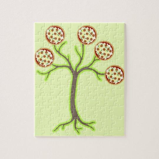pizza tree jigsaw puzzle