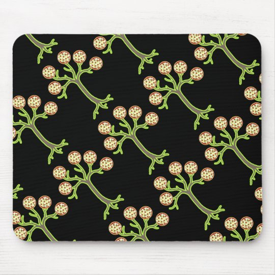 pizza tree mouse pad
