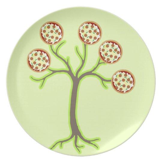 pizza tree plate