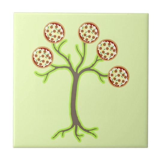 pizza tree tile