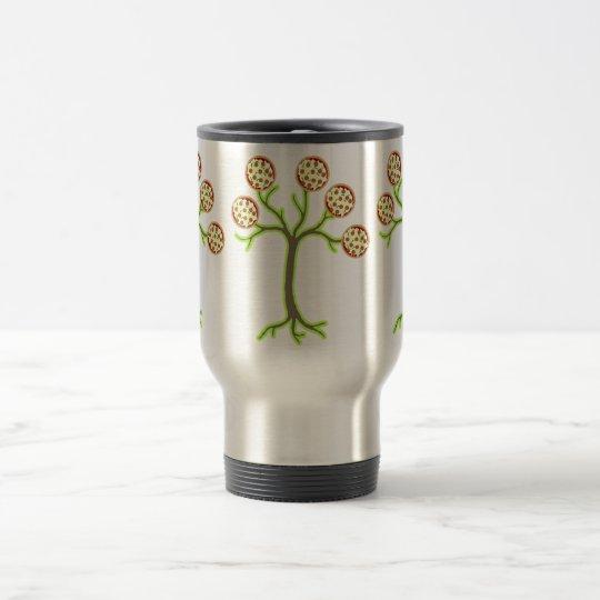 pizza tree travel mug