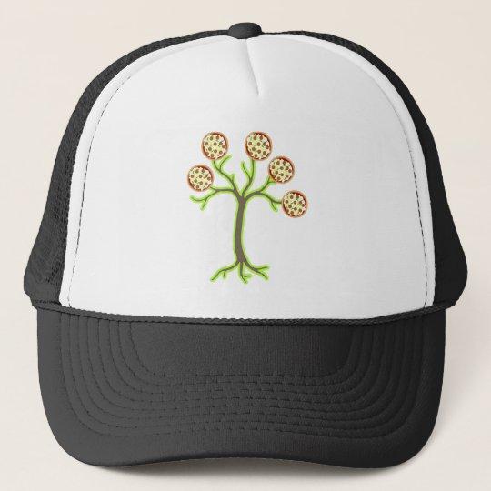pizza tree trucker hat