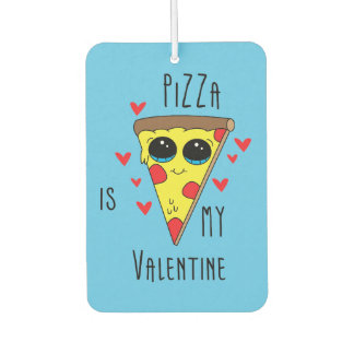 Pizza Valentine Emoji Car Air Freshener