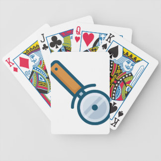 Pizza Wheel Cutter Bicycle Playing Cards