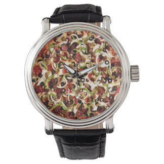 Pizza with the Works Watch