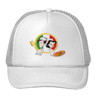 Pizzaiolo and Pizza Cap