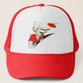 Pizzaiolo and Pizza Trucker Hat