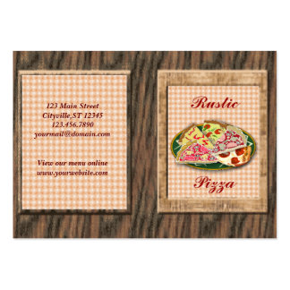 Pizzeria Business Card Templates