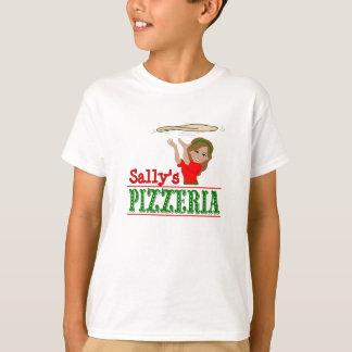 Pizzeria Personalized Girls Shirt