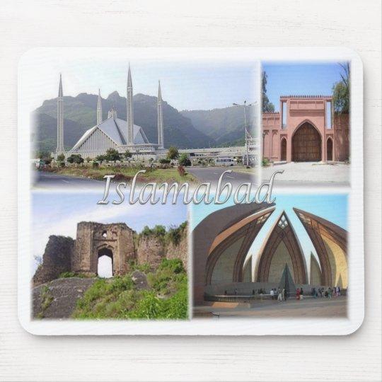PK Pakistan - Islamabad - Mouse Pad