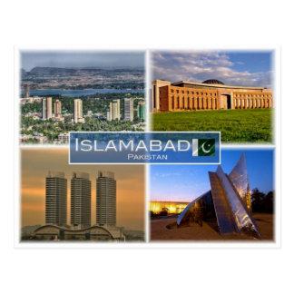PK Pakistan - Islamabad - Postcard
