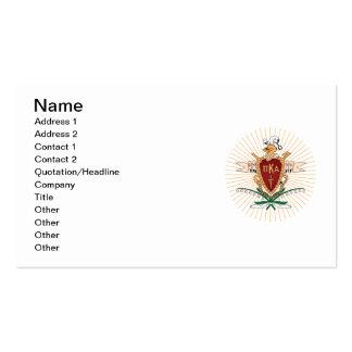 PKA Crest Color Business Cards