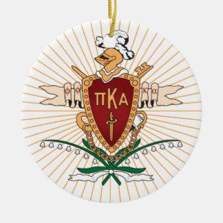 PKA Crest Color Ceramic Ornament