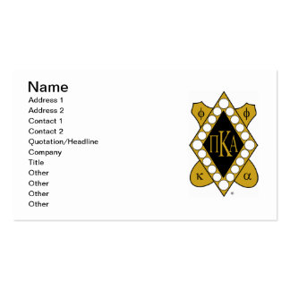 PKA Gold Diamond Pack Of Standard Business Cards
