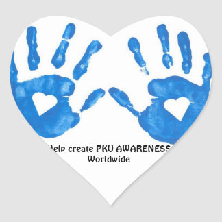 PKU Heart Sticker