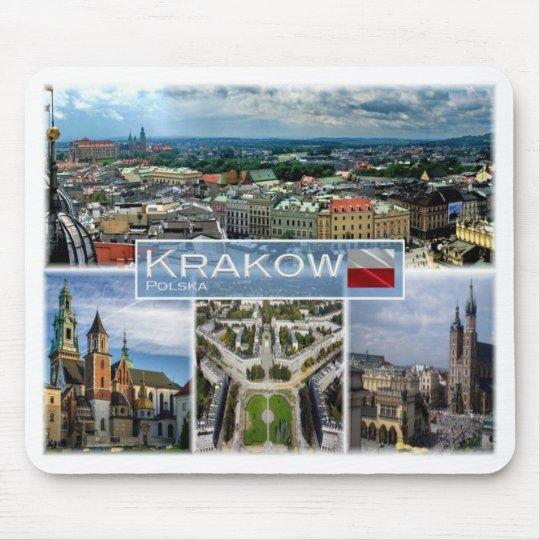 PL Poland Polska - Krakow - Mouse Pad