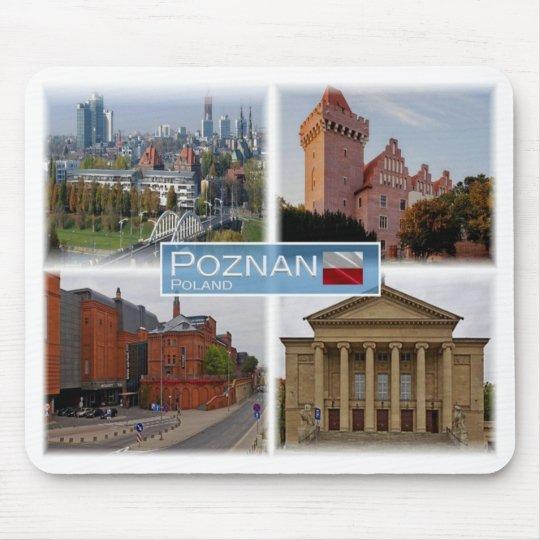 PL Poland Polska - Poznan - Mouse Pad