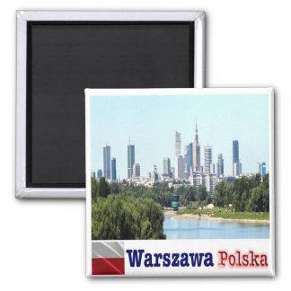 PL - Poland - Warsaw - Skylin Magnet