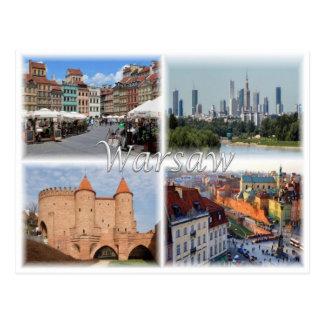 PL Poland - Warsaw Warszawa - Postcard