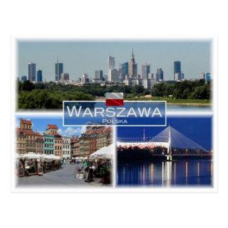 PL Poland -Warszawa Warsaw - Postcard