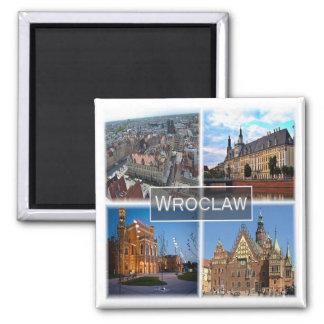 PL * Wroclaw - Poland - Polska Magnet