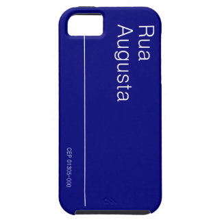 PLACA DA RUA AUGUSTA PARA IPHONE 5 CASE FOR THE iPhone 5
