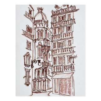 Placa de Manises in Old Town | Valencia, Spain Postcard