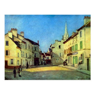 Place at Argenteuil by Alfred Sisley Postcard