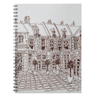 Place Aux Oignons, Old Town | Lille, France Notebooks