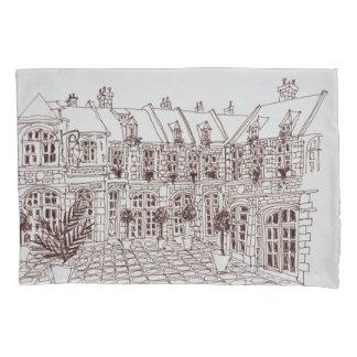 Place Aux Oignons, Old Town | Lille, France Pillowcase