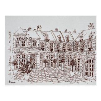 Place Aux Oignons, Old Town | Lille, France Postcard