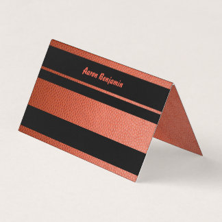 Place Card for Hoops Bar Mitzvah Collection