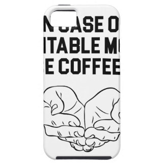 Place Coffee Here iPhone 5 Case
