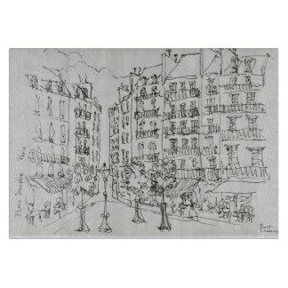 Place Dauphine, Ile de la Cite | Paris, France Cutting Board