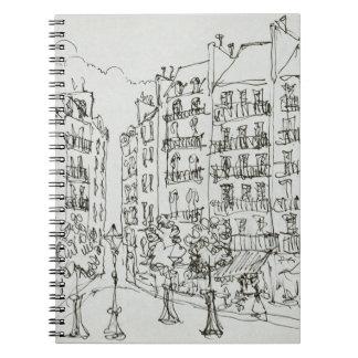 Place Dauphine, Ile de la Cite | Paris, France Notebooks